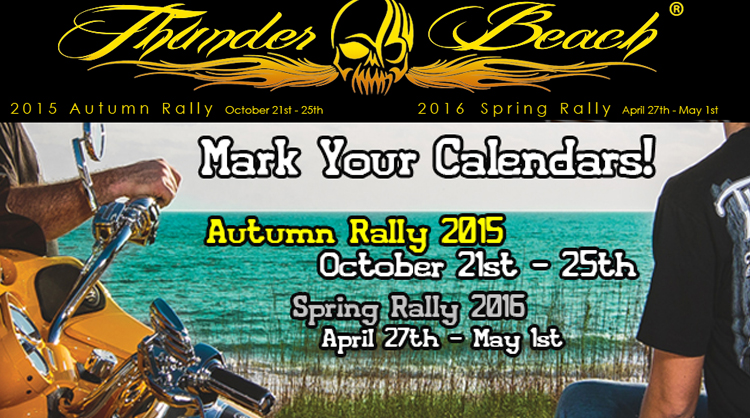 Thunder Beach Autumn Bike Rally October 21-25, 2015